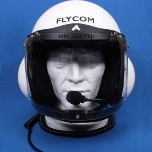 Flycom - Aircraft Helmets- Microlight, Ultralight, Autogyro